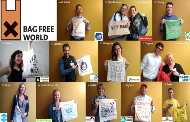 Cartel plastic bag free world
