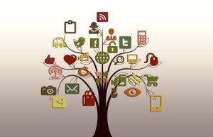arbre en què les fulles són elements d'internet