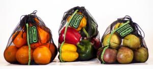 Bitsy bags. Bosses per comprar fruita i verdura.