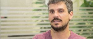 Álvaro Porro, entrevistat a la seu de Barcelona Activa.