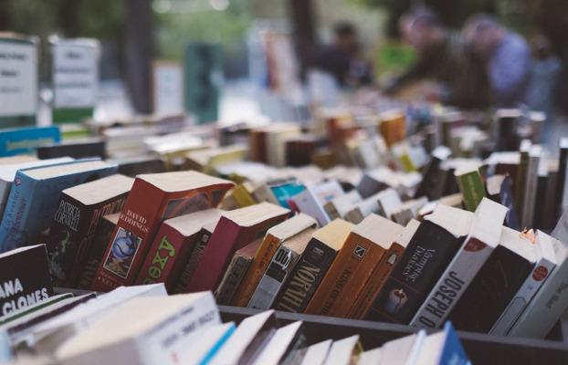 Parada de llibres.