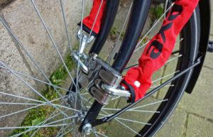 Candado bicicleta. Evitar robos de bicis