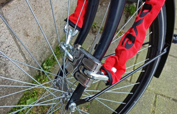 Candau de bicicleta. Evitar robatoris de bicis
