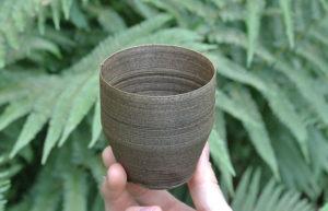Imatge d'un got biodegradable i compostable de bambú