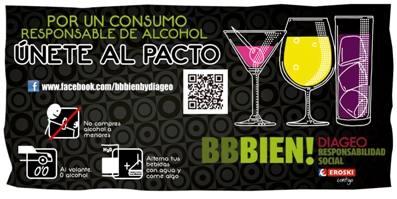 Campaña consumo responsable de alcohol