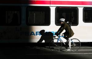 Bicicleta al tren