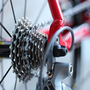 Manteniment de la cadena de la bici