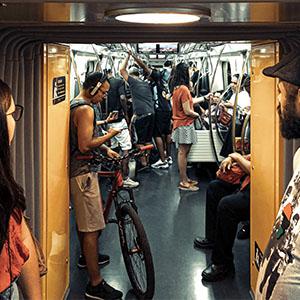 portar la bicicleta al metro