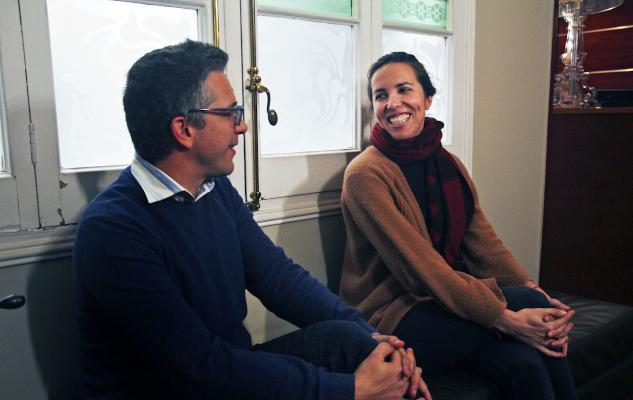 David Franquesa i Mireia Roure