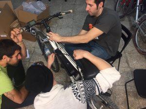 Electrificació d'una bicicleta